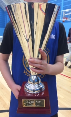 Jr. NBA basketballscotland Trophy